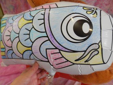 大きい鯉のぼり
