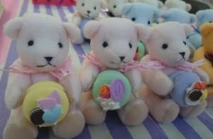 ピンク3匹